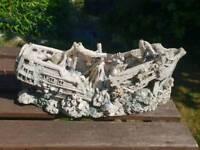 Large Aquarium Ship Ornament