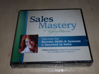 SALES MASTERY WITH TIFFANY PETERSON CD BOX SET NEW AND SEALED