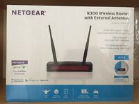 NETGEAR N300 - Wireless Router with External Antennas - Excellent Condition