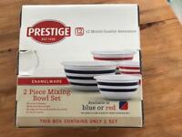 Prestige mixing bowls x2