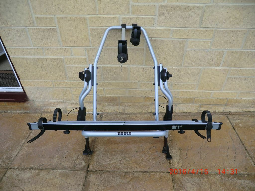thule clipon high 9105 9106 2 cycle rear hi bike rack. Black Bedroom Furniture Sets. Home Design Ideas