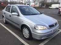 VAUXHALL ASTRA CLUB AUTO 1.6'AIRCONDITIONING ' STAMPEDE SERVICE HISTORY,, FRESH ONE YEAR MOT.. £1000