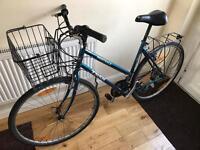 Trek 18 speed adults hybrid road city bike with basket £100