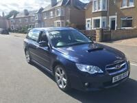 Subaru Legacy 2ltr tdi boxer diesel estate 08reg fsh all main dealer 1 year mot no advisory