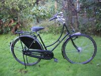 ladies dutchie,step through 3 speed,20 in frame,made in holland