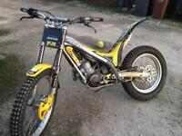 Trials bike gasgas txt pro not beta Sherco mate montesa scorpa