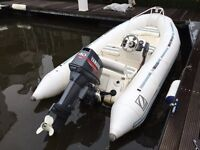 Zodiac 420 with 40hp Yamaha 2-Stroke Outboard for Sale