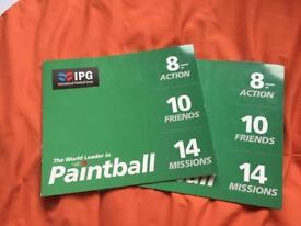 International Paintball Group Tickets