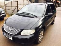 2001 Chrysler Voyager CRD diesel 7 seater manual px welcome
