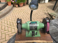 """BENCH GRINDER ** 6"""" ** 430W *8 REXON BRAND ** OLD STYLE QUALITY"""
