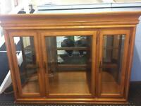 Reduced - Vintage Solid Wood Dresser - Mirrored and Back Lit