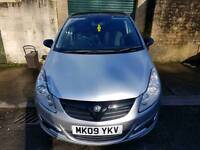 Vauxhall Corsa 1.2 09, low mileage, great condition, no service history