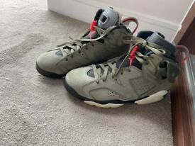 Air Jordan 6 Retro Travis scott size 8 UK