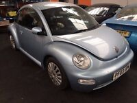 vw beatle 1.6 breaking all parts for sale