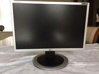 LG Flatron Wide Monitor Screen