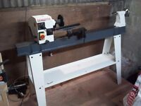 Axminster Lathe + Bandsaw scrol chuck dust extractor woodturning blanks chisels + loads more