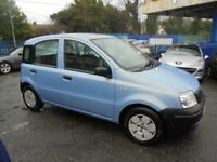 FIAT PANDA 1108cc ACTIVE 5 DOOR HATCH 2007 0N PRIVATE PLATE, BLUE, 1 FORMER KEEPER,