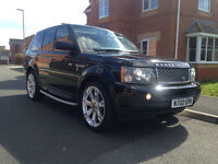 55 plate range rover hse sport 2.7 v6 cheap t-a-x,long mot,full service history low miles £10895ovno