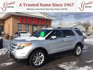 2013 Ford Explorer Limited 4wd Leather Navi Roof
