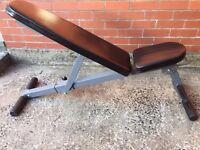 Folding Weights & Utility Bench
