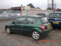 2002 RENAULT CLIO 1.2 **** CHEAP CAR****