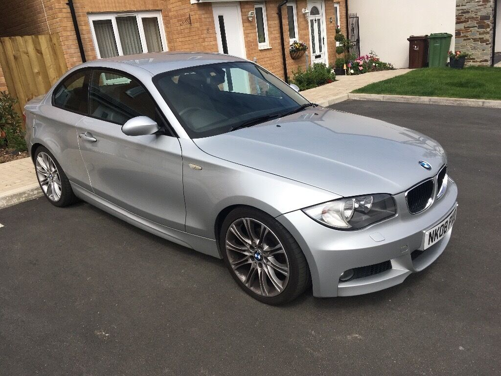 reduced bmw 120d coupe m sport 2008 in plymouth devon. Black Bedroom Furniture Sets. Home Design Ideas