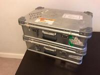 Storage cases / metal / box / aeroplane / suit case