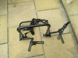 BIKE RACK - FREELANDER 1 OR SIMILAR - FITS OVER SPARE WHEEL
