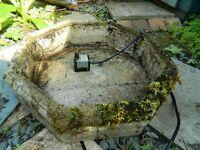 Pebble fountain (octagonal)