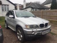 2003 BMW X5 3.0 DIESEL SPORT AUTOMATIC MET SILVER £2290