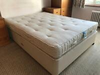King size (5ft) Hypnos Mattress and Base