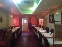 A3 Indian restaurant for sale in Islington, London. £45,000 for business. OPEN TO SENSIBLE OFFERS