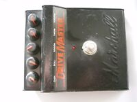 Marshall Drive Master stompbox/pedal/effects unit for electric guitar - 1990s - England