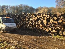 2 cubic metres of logs (firewood)