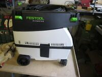 Festool dust vacuum and Festool Router