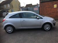Vauxhall corsa 2012, 1.2 sliver for quick sale