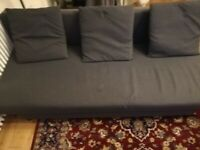 3-seat sofa-bed with storage