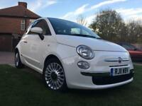 Fiat 500 0.9TwinAir Lounge Dualogic, 3 Rd, Automatic, Pan Roof, 0%Tax