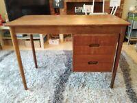 Arne Hovmand Olsen For Jutex 1950s-1960s Mid Modern Danish Wooden Desk