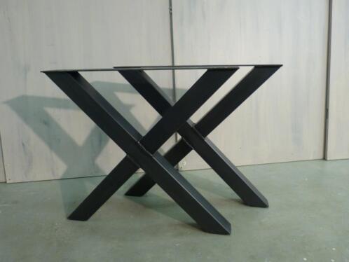 Wonderbaarlijk ≥ Metalen poten,stalen tafelpoten,onderstel van ijzer - Tafels KL-89