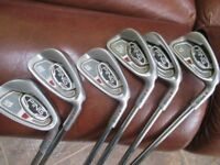 PING i15 irons 5 to wedge regular shaft