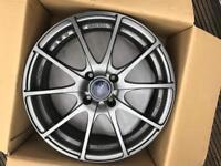 Hrs 490 light weight alloy wheels