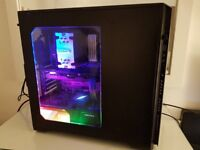 Gaming PC i5 6600k 16GB DDR4, GTX 970, SSD x2, 2TB HDD, RGB Lighting