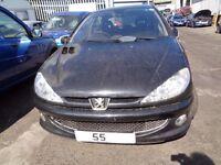 BREAKING --- Peugeot 206 SE TD 1.4L Diesel 67BHP ----- 2005