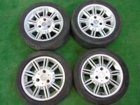"SMART FORTWO 15"" inch ALLOY WHEELS"