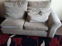 2 Seater Section Of Corner Sofa With Cushions