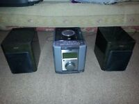 stereo whole set with speaker+ remote control