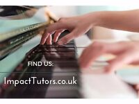 Professional Piano Teachers for Private Lessons in Harringey