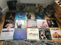 "Selection of lp 12"" vinyl records dj"
