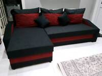 Corner Sofa Bed. Brand New. Various colours. Was £750 now only £320. *Free Delivery*